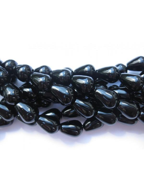 dråbe perler af onyx