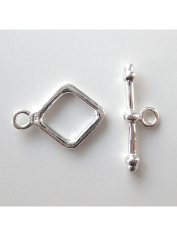 Sterling sølv bidsel lås-3