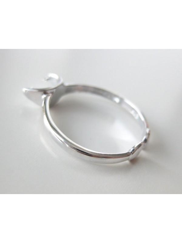 Sterling sølv fingerring-3