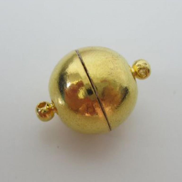 16mm guldbelagt magnet kuglelås-3