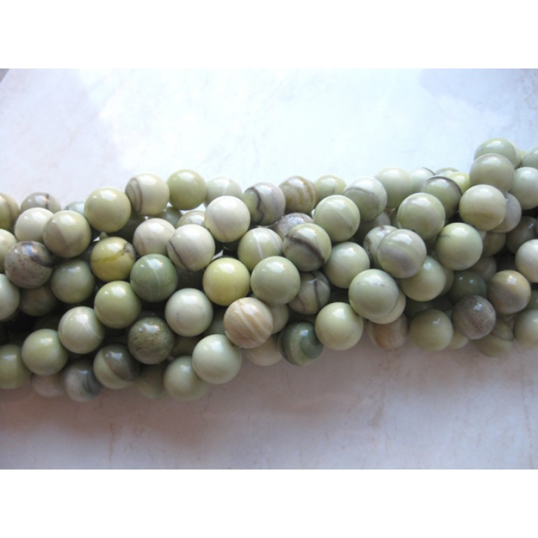 10mm rund tallow jade