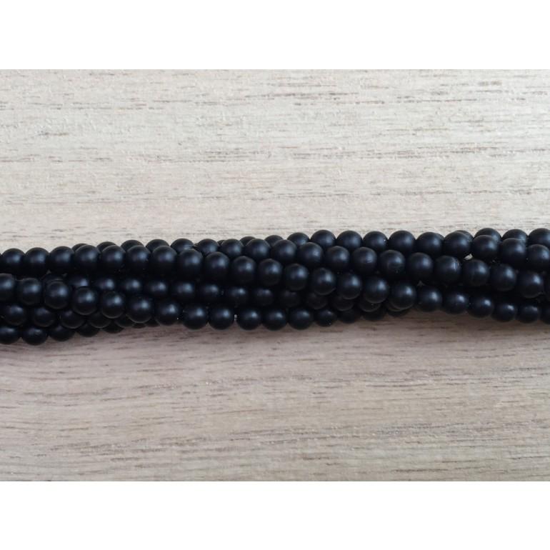 3mm mat agat perler