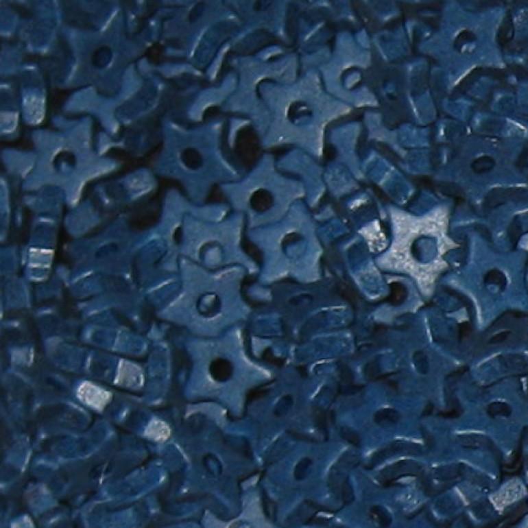 9mm keramikstjerne, marineblå-3