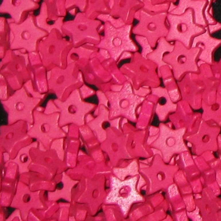 9mm keramikstjerne, pink-3