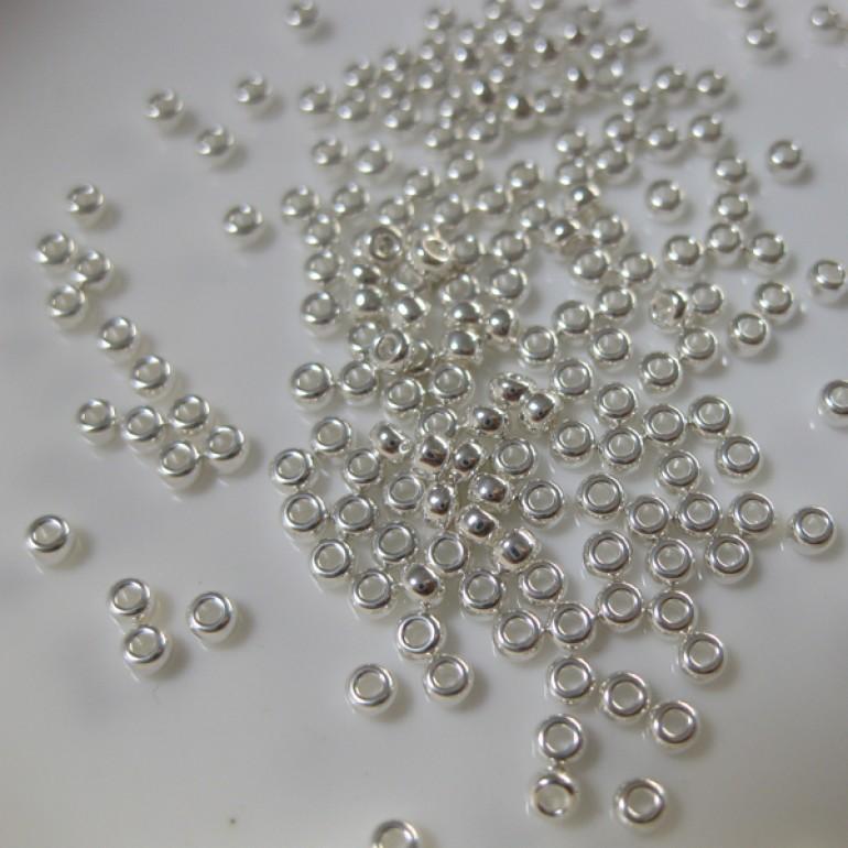 Miyuki sølv seed beads