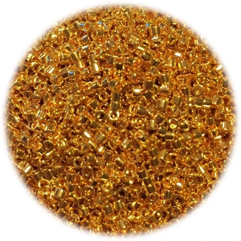 miyuki delica 24kt guld