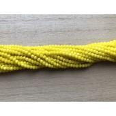 opak gule glasperler