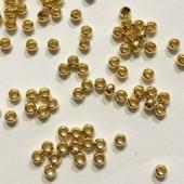 Guldbelagte wireklemmer 2,5mm