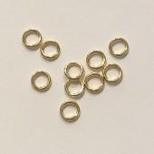 6mm guld øskner