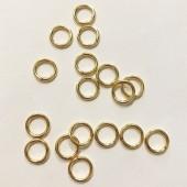 8mm guld øskner