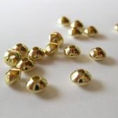 5x3mm forgyldte mellemleds perler, 20 stk-20