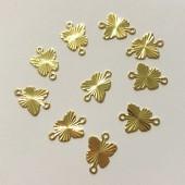 sommerfugle vedhæng guld