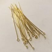 guldbelagte perlestave med øje