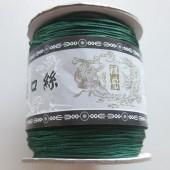 0,8mm nylon knyttesnor, grøn-20