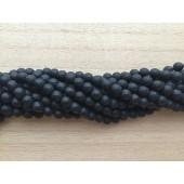 6mm facetslebne matte perler