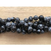 snowflake obsidian perler