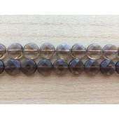 Facetslebne mønt perler