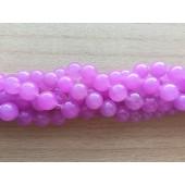 perler af lys violet jade 10mm