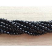 6mm sort onyx perler