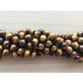 tigerøje perler 10mm