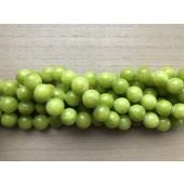 14mm lys lemon farvet jade