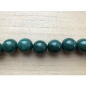 mørk grøn perle 20mm