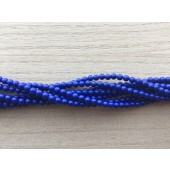 3mm blå perler