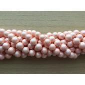 fersken farvet shell perler