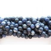 12mm runde perler af sodalit