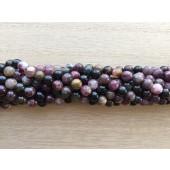 6mm turmalin perler