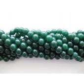 8mm grønne perler