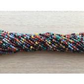 multifarvet agat 2mm