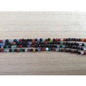 multifarvet agat 3mm