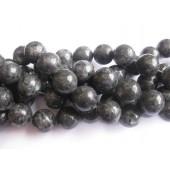 18mm runde perler af larvikit