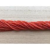 2mm rød agat perler
