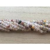 4mm rutilkvarts perler