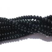 rondeller af sort onyx