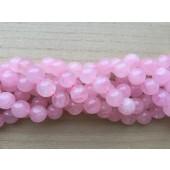 16mm rosenkvarts perler