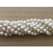 8mm hvide shell perler