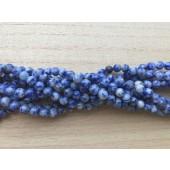 6mm blå plettet jaspis