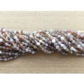 4mm botswana agat perler