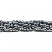 3mm sølv perler