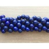 14mm perler af lapis lazuli