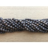 matte bruge bronzit perler 4mm