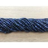 3mm blå stenperler