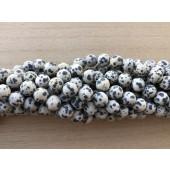 10mm matte dalmatiner jaspis