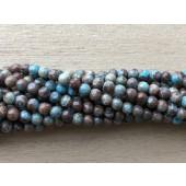 3mm runde perler af efterårs jaspis