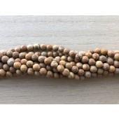 6mm facetslebne karry gule perler