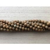 4mm facetslebne karry gule perler