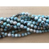 8mm turkise agat perler